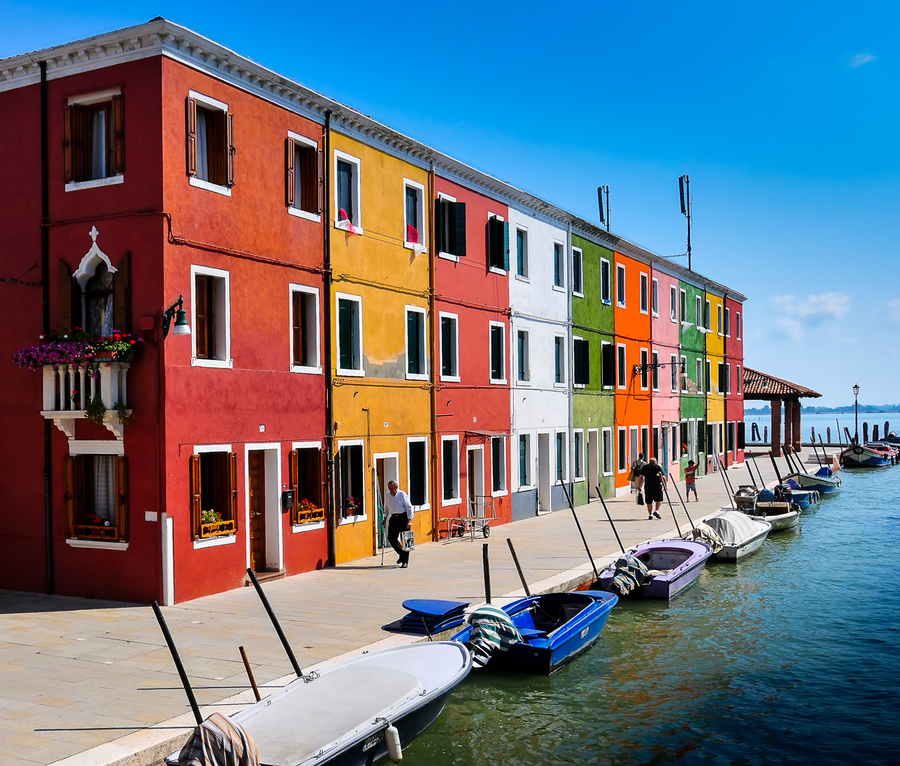Colors of Burano ©Jayson Gomes