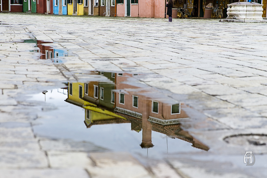 Burano nach dem Regen... ©Albert Dandl