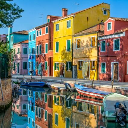Découverte de Burano, magnifique île de la lagune de Venise
