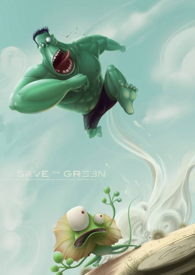 Hulk - Save the Green by JXing