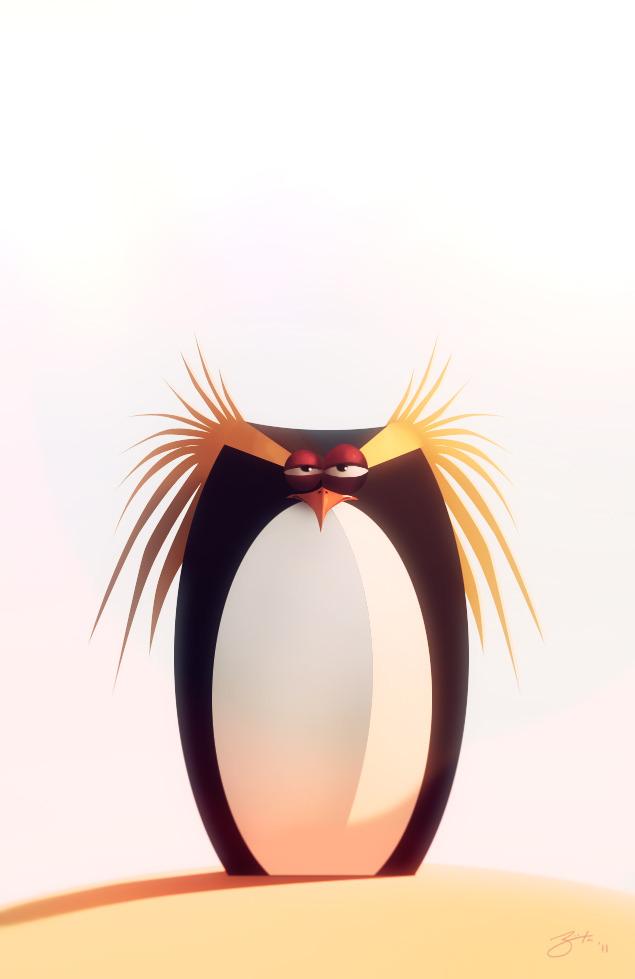 Penguin by Goro