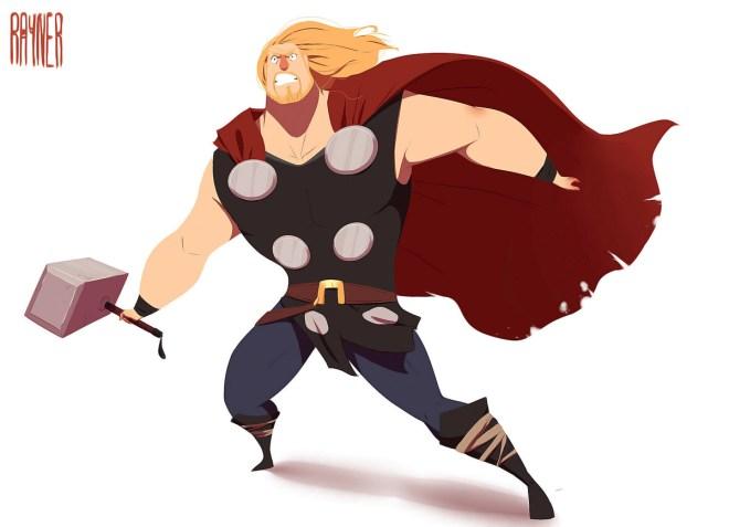 Thor by Rayner Alencar