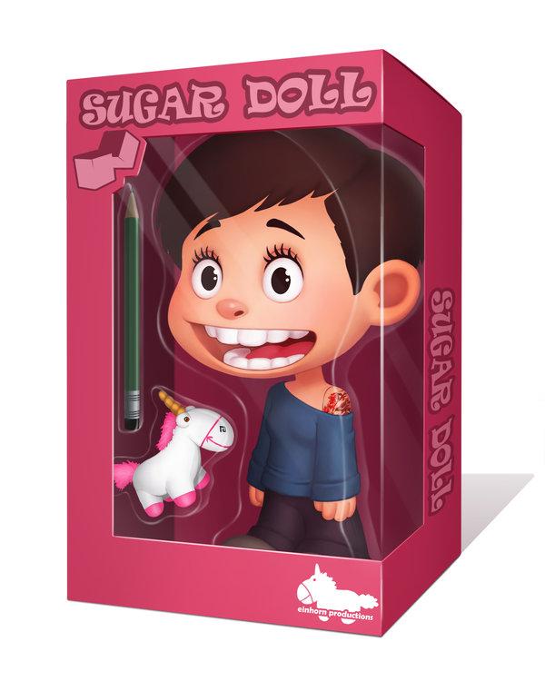 Sugar Doll by Daniela Uhlig