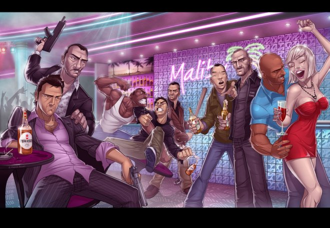 GTA Legends III - Patrick Brown