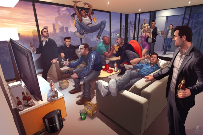 Grand Theft Auto Legends 2012 - Patrick Brown