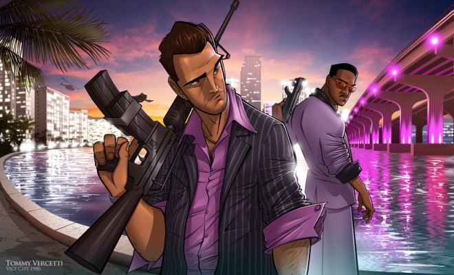 GTA : Vice City Vibes - Patrick Brown