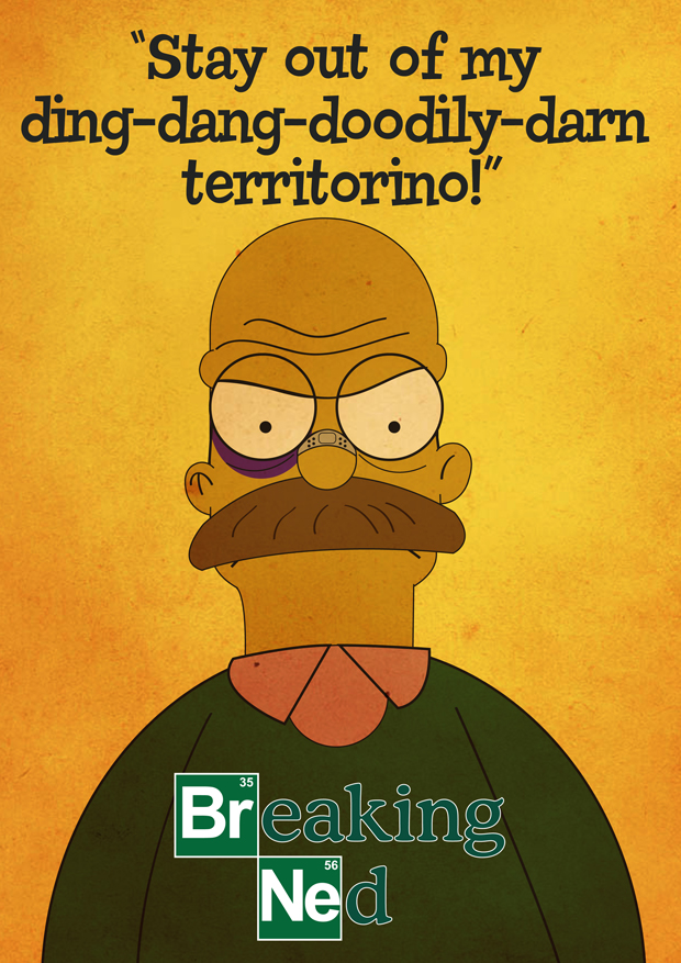 Breaking Ned - Jesse Griffin - Simpsons vs Breaking Bad