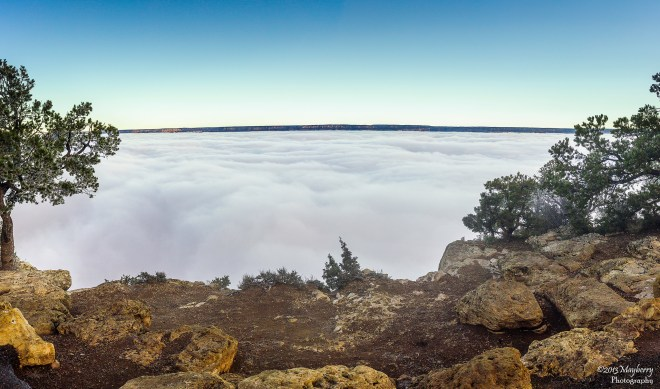 Clouds Inside the Grand Canyon 21755430