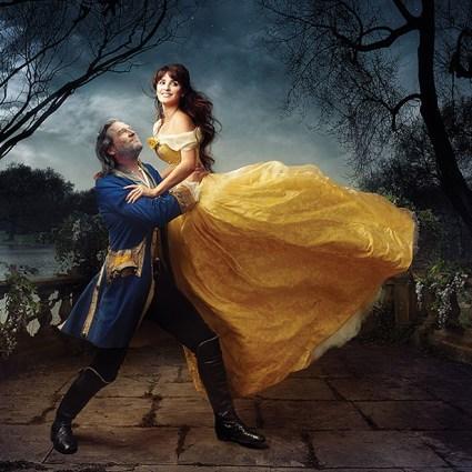 Annie Leibovitz transforme des célébrités en portrait de rêve pour Disney