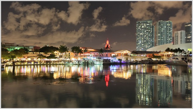 Miami Waterfront, Saturday Night - Greg Ness