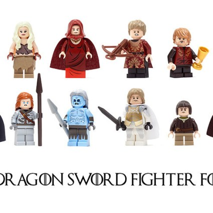 Des LEGO Game of Thrones