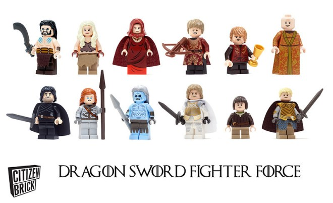 LEGO - Game of Thrones - Group