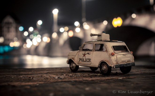 Be Quiet, Police's Here / Kim Leuenberger
