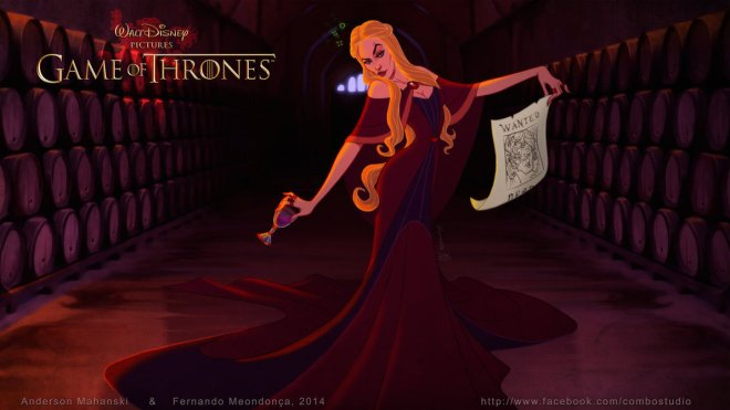 Cersei GOT Disney by Fernando Mendonca 71935967