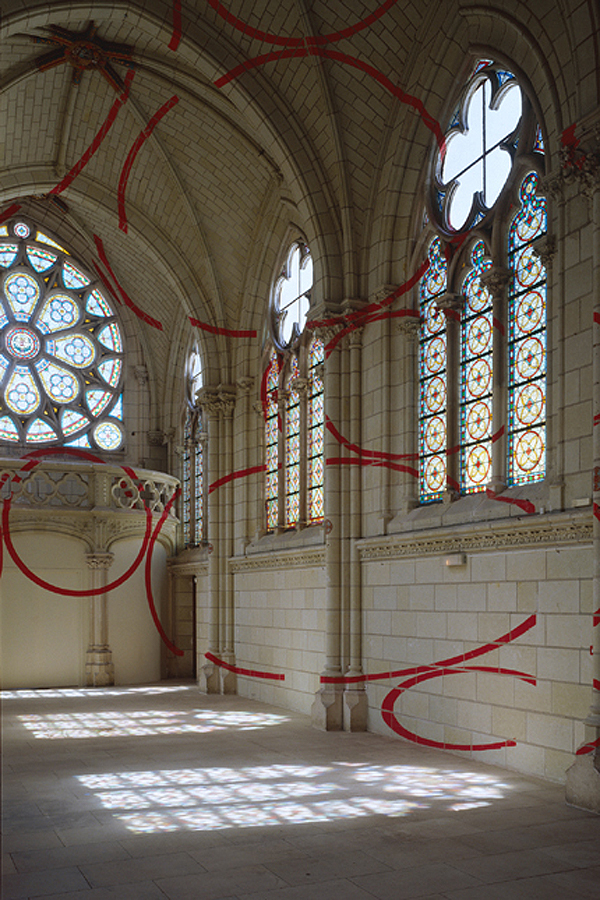 """Encerclement à dix,"" Centre d'Art Contemporain, Thouars, France – 1999"