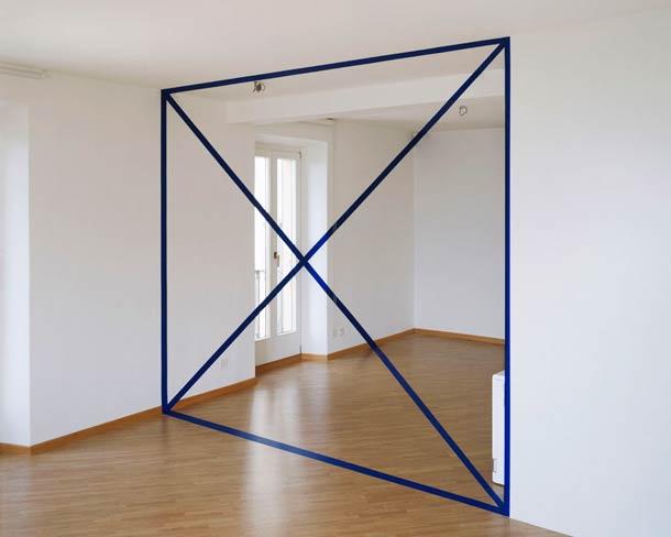 """""""Trapezio con due diagonali"""" 1996"""