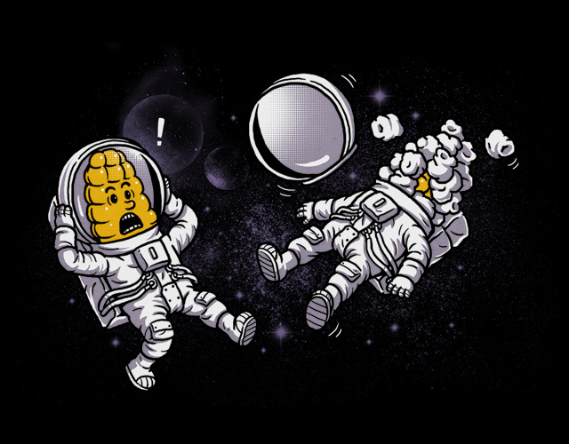 Corn Astronauts