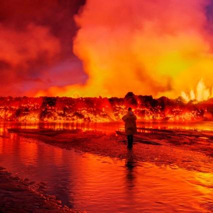 11 superbes photos du volcan Bárðarbunga  en Islande