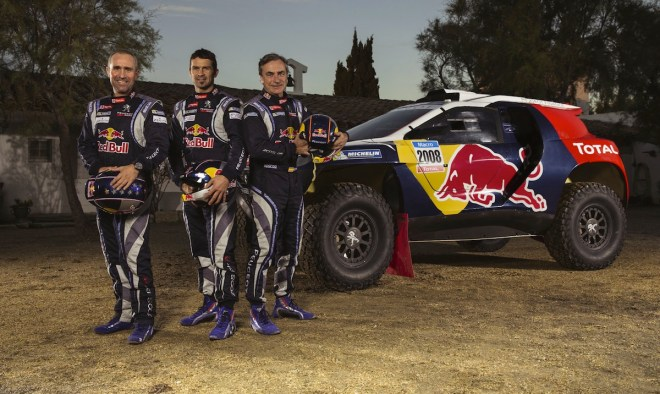 Stephane Peterhansel, Cyril Despres, Carlos Sainz - Portrait