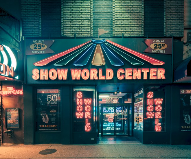 Show World Center, New York City, 2014