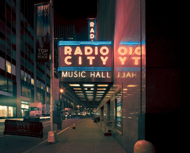 NY Radio City Music Hall, New York City, 2014