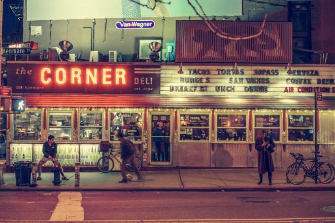 Corner Deli, New York City, 2014