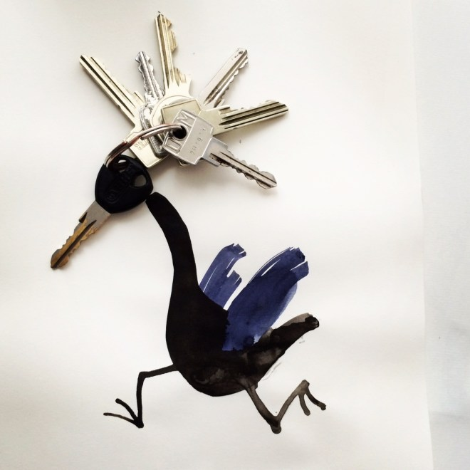 Keychain Hoope - Abstract Sunday - Christoph Niemann