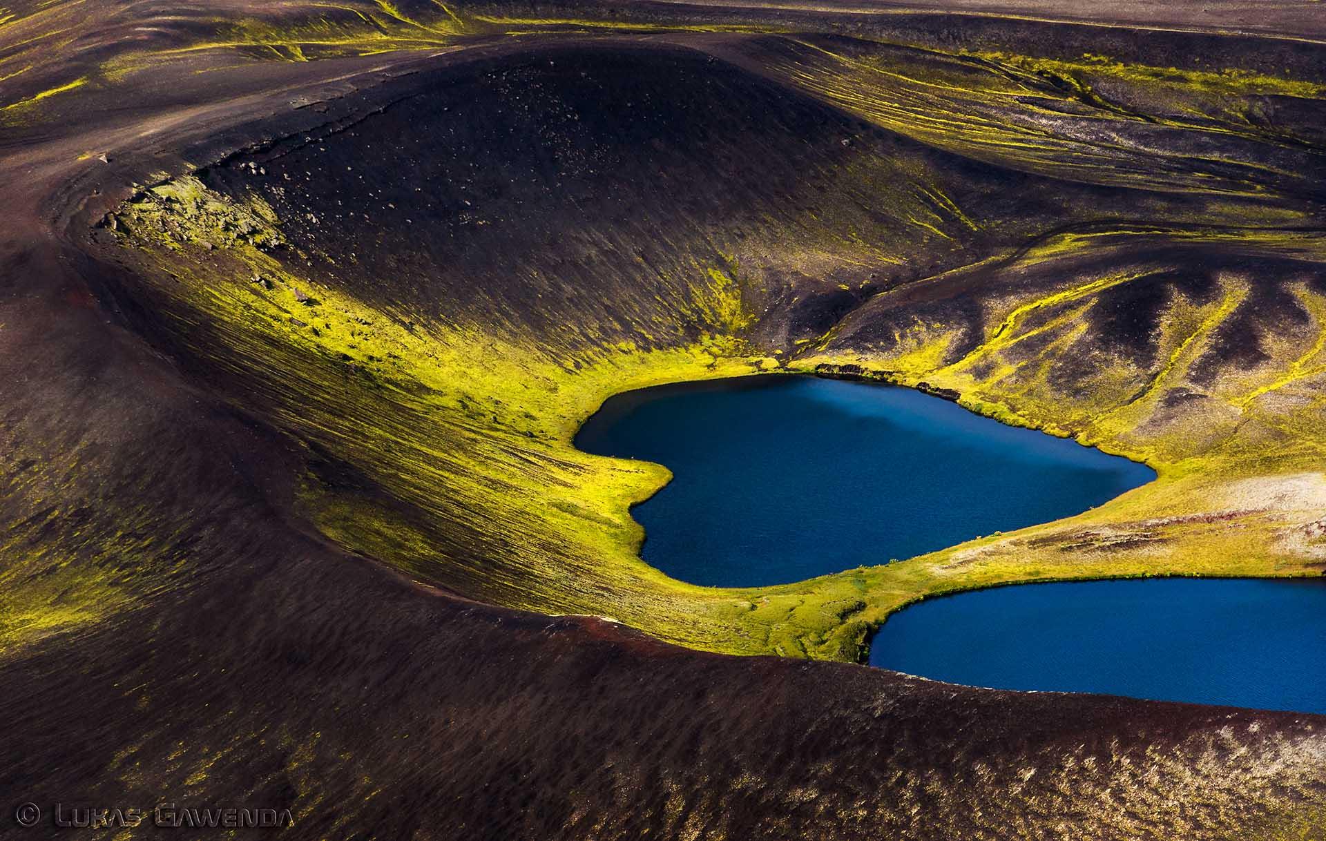 L'Islande vue d'en haut par Lukas Gawenda