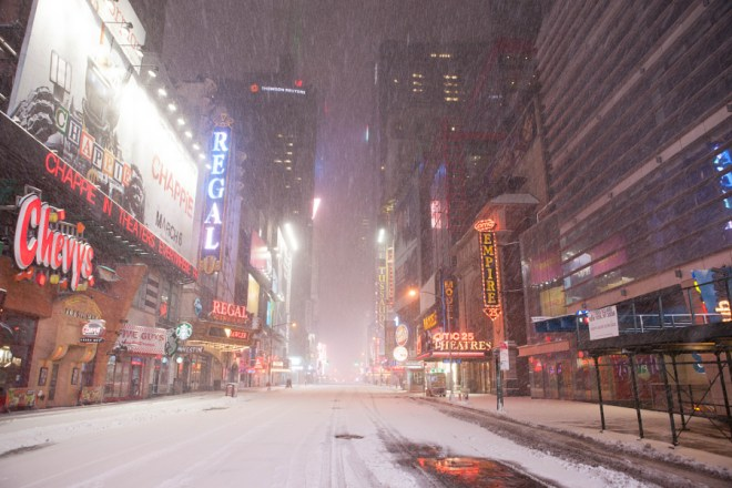 Desolate 42nd Street - Anthony Quintano 0001