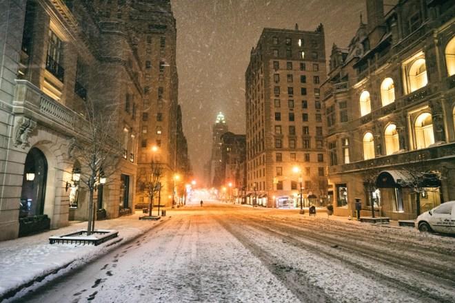 New York City - Winter Storm Juno - Vivienne Gucwa