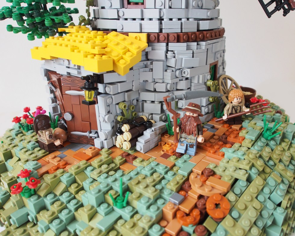 Ol' Poggards' Mill - LEGO - David Hensel