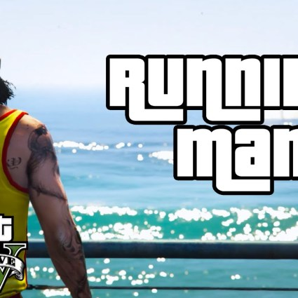 """Running, Man"" / GTA V PC Editor"