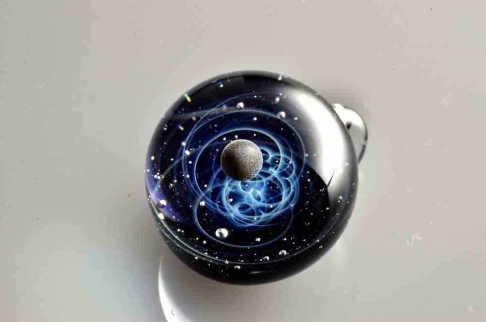 satoshi tomizu - pendentif verre 36197091