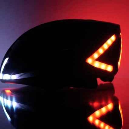 Lumos, le casque pour vélo pour être visible