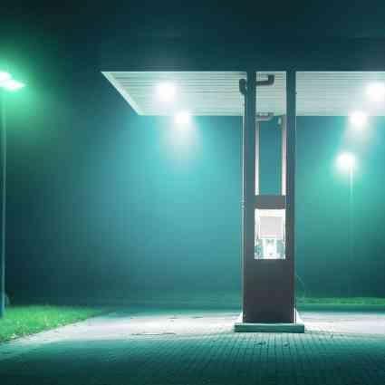 Photographies de la brume dans les rues désertes la nuit / Andreas Levers