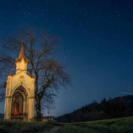 Illuminated Chapel (c) Filip Eremita
