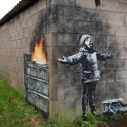 Against Pollution in Port Talbot / Banksy