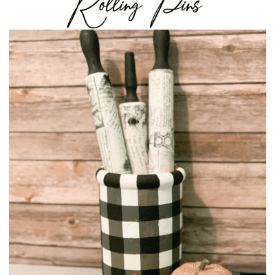 How to make personalized rolling pins for gifts