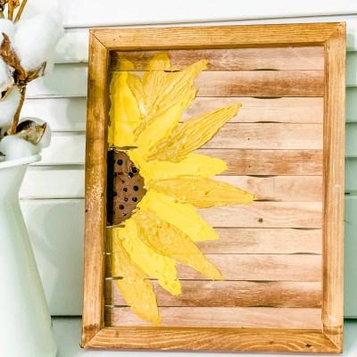 Diy Sunflower Painting