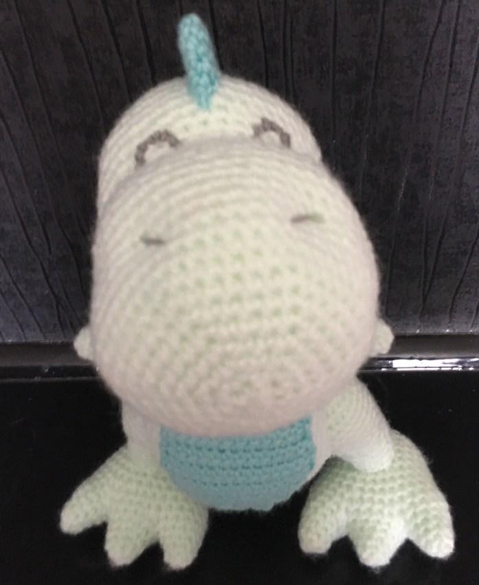 T-Rex Dinosaur Crochet Pattern