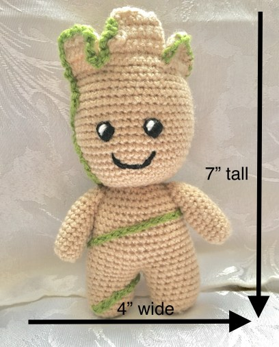 Free Character Crochet Pattern – Medium