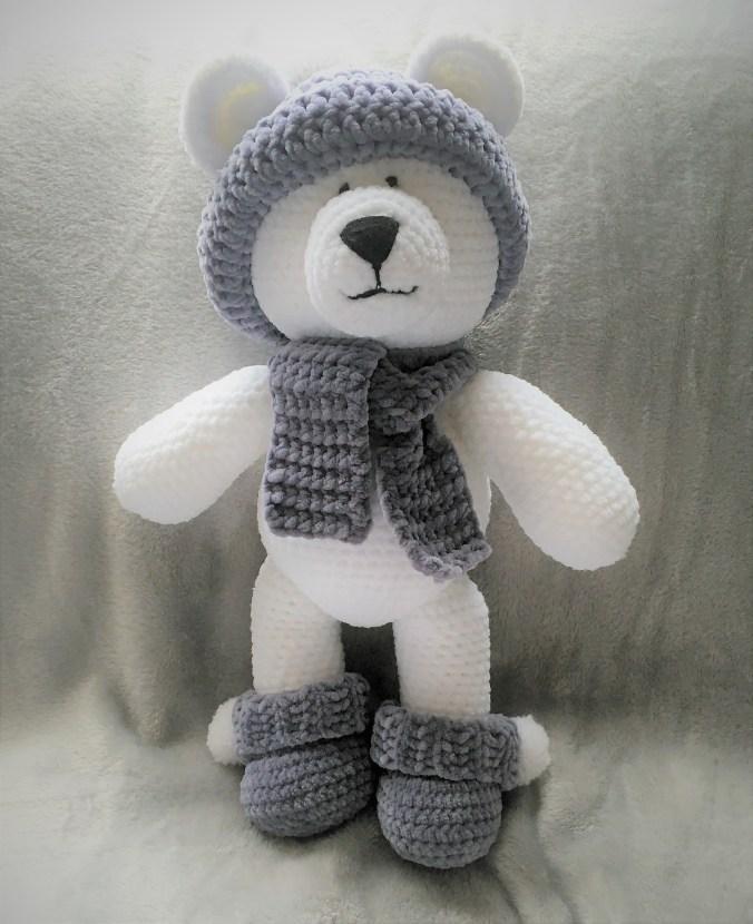 Crochet Winter Polar Bear
