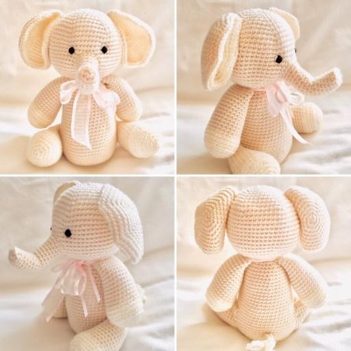 Handmade Crochet Elephant Pattern