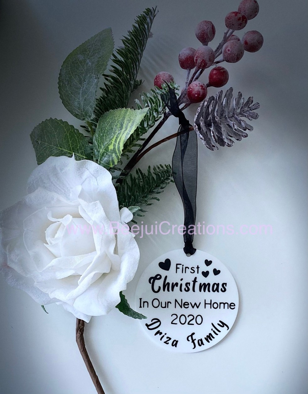 First Christmas Acrylic Ornament