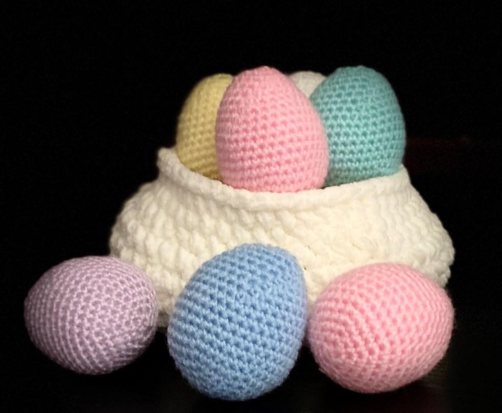 Crochet Mini Easter Egg - Free Pattern