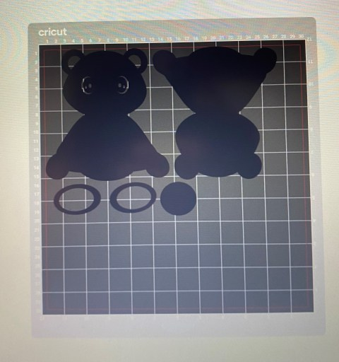 3D Layered Panda SVG - Free File & Tutorial  Black Mat Placement
