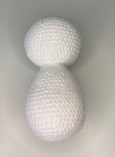 Crochet Polar Bear - Head & Body