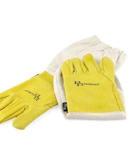 BBwear Buffalo Hide Beekeepers gloves