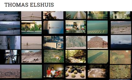 Portfolio website voor Thomas Elshuis