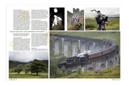 Reportage t.b.v. Harry Potter reis voor reisorganisatie SNP-Natuurreizen